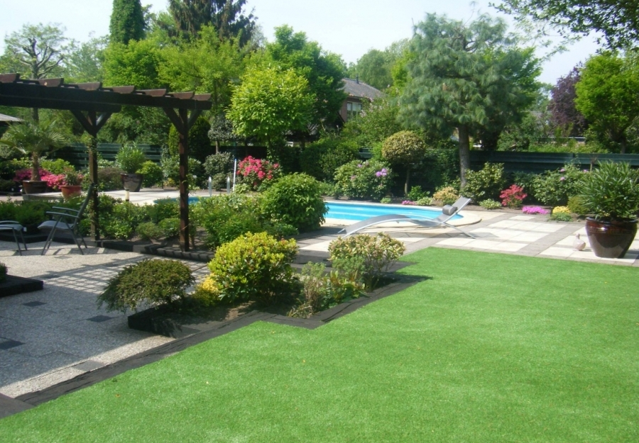 Garden and terrace artifical grass - Pool artificial grass
