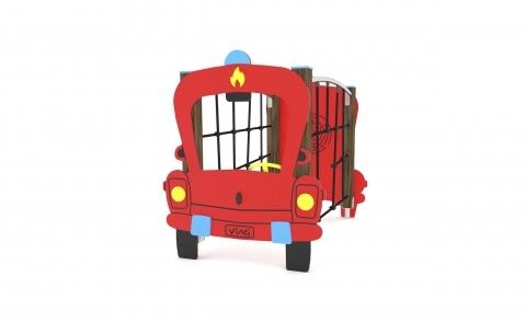 Tűzoltóautó mászókákkal