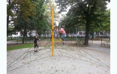 Climbing net 1001