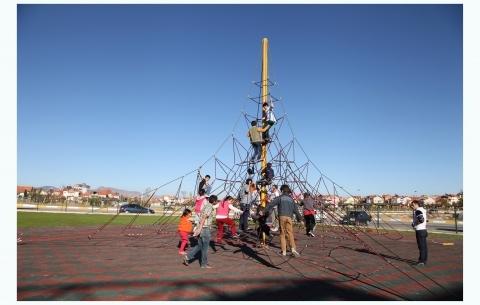 Climbing net 1005