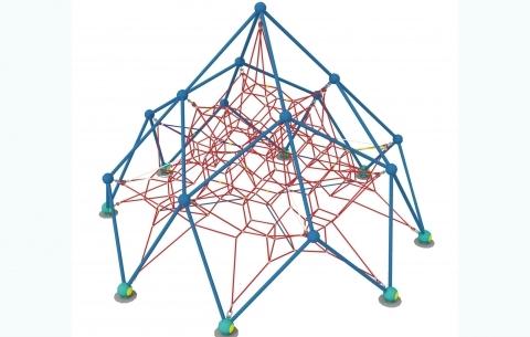 Climbing net 1006
