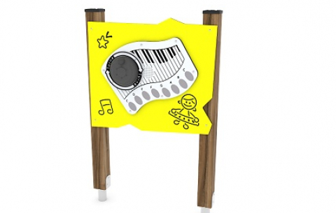 Zenélő játékpanel